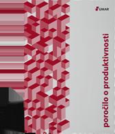 Naslovnica publikacije Poročilo o produktivnosti