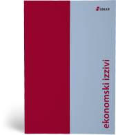 Naslovnica publikacije Ekonomski izzivi